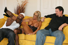 naughty wife misty was so turned on when DT came into the room, she loved his big hard sexy black body & couldn't wait to taste his cum